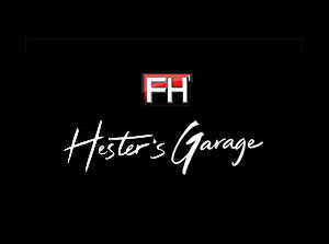 hesters garage logo home
