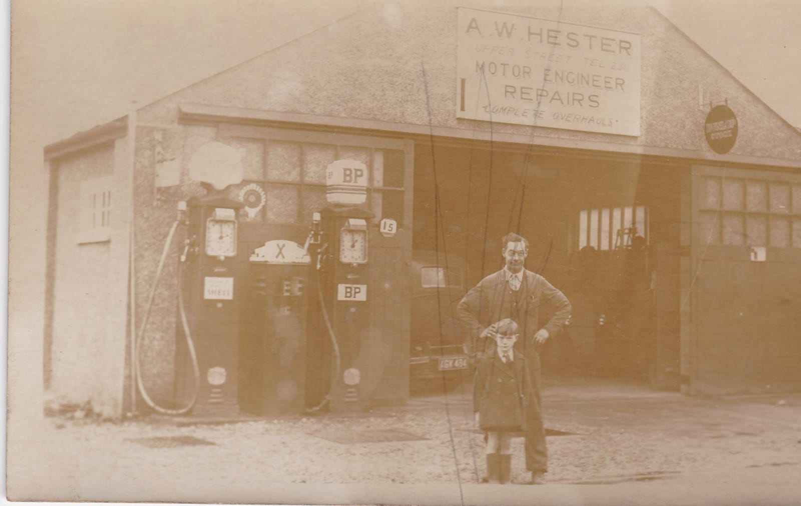 hesters garage fleet hampshire